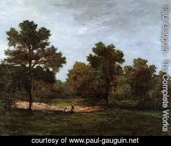 Paul Gauguin - Clearing I