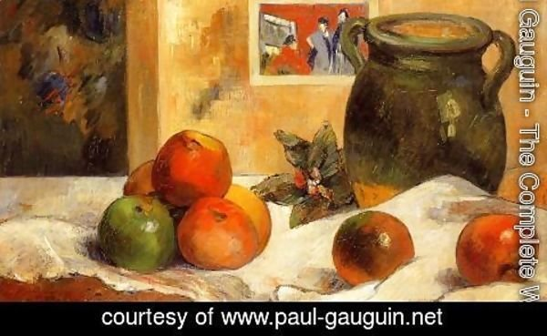 Paul Gauguin - Still Life with Japanese Print I