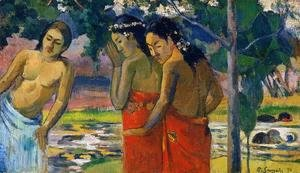 Paul Gauguin - Three Tahitian Women I