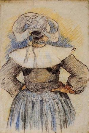 Paul Gauguin - Four Breton Women (study)