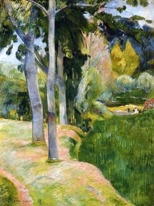 Paul Gauguin - The Large Trees
