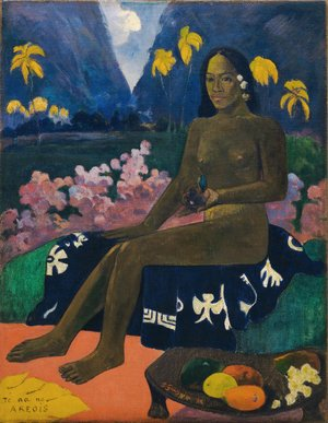 Paul Gauguin - Seed of the Areoi (Te aa no areois)