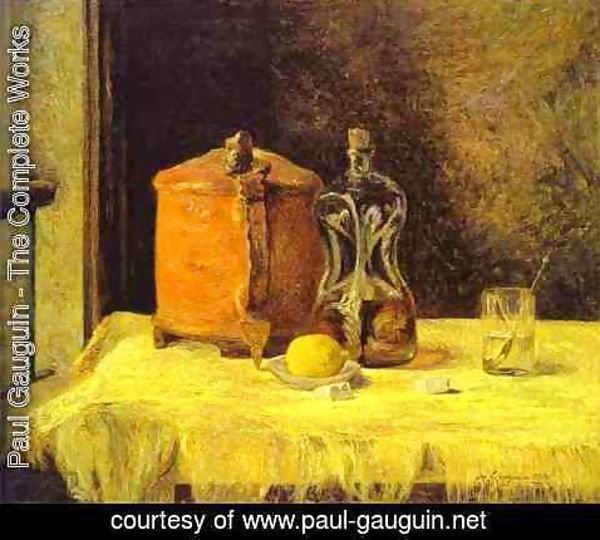 Paul Gauguin - At The Window