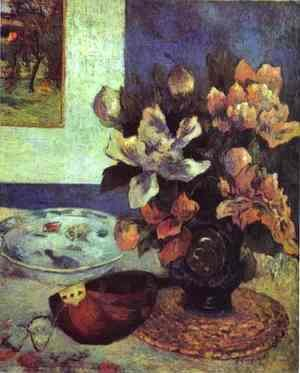 Paul Gauguin - Still Life with a Mandolin