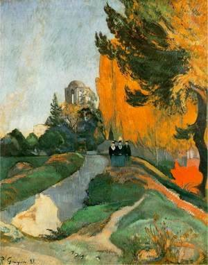 Paul Gauguin - The Alyscamps