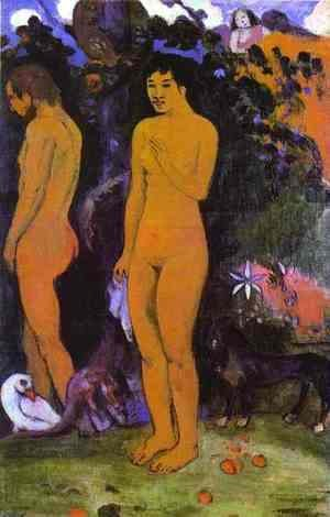 Paul Gauguin - Adam and Eve