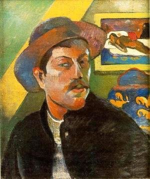 Paul Gauguin - Portrait de l'Artiste