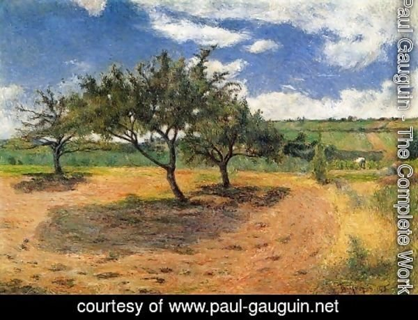Paul Gauguin - Apple Trees at l'Hermitage