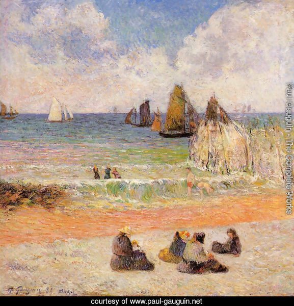Bathing, Dieppe