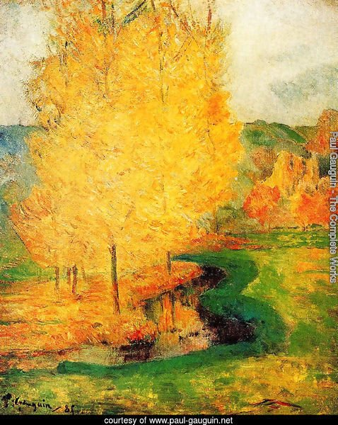 By the Stream, Autumn