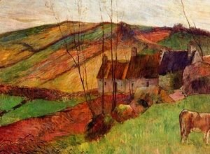 Paul Gauguin - Cottages on Mount Sainte-Marguerite 2
