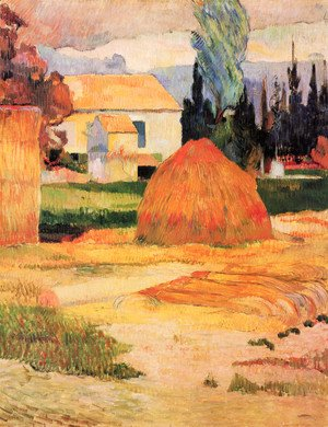 Paul Gauguin - Haystack, near Arles