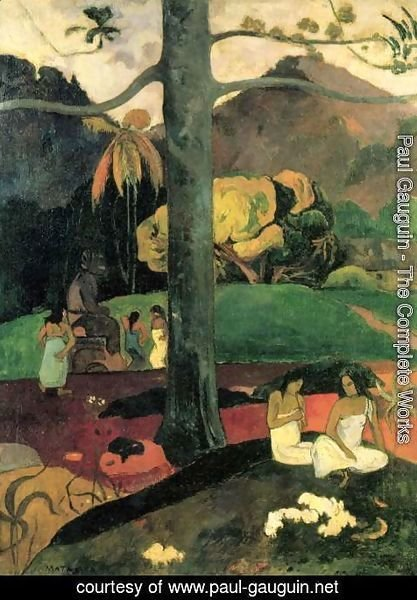Paul Gauguin - In Olden Times