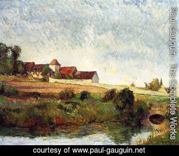 Paul Gauguin - La Groue Farm, Osny