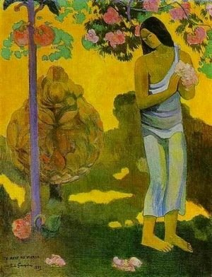 Paul Gauguin - Month of Maria