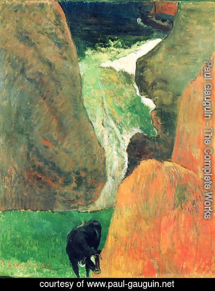 Paul Gauguin - On the abyss