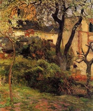 Paul Gauguin - Rouen, Spring