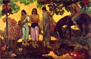 Paul Gauguin - Rupe Rupe (Obsternte)
