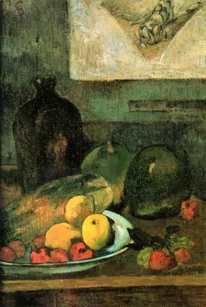 Paul Gauguin - Still life before a pass