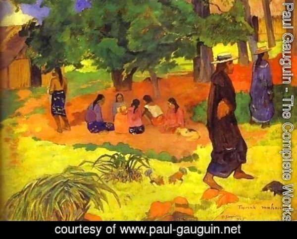 Paul Gauguin - Taperaa Mahana 2