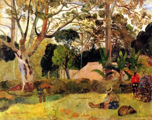 Paul Gauguin - The Big Tree