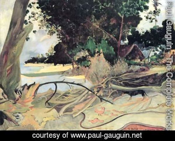 Paul Gauguin - The thick tree