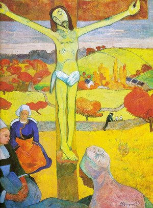 Paul Gauguin - The yellow Crist