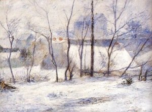 Paul Gauguin - Winter Landscape, Effect of Snow