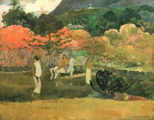 Paul Gauguin - Women and mould (2)
