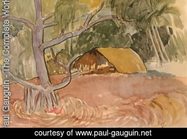 Paul Gauguin - Watercolor 14