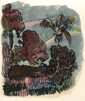 Paul Gauguin - Watercolor 17