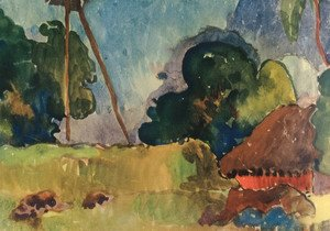 Paul Gauguin - Watercolor 21