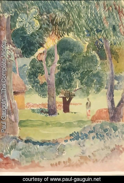 Paul Gauguin - Watercolor 24