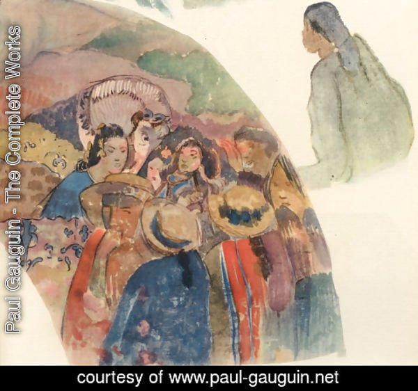 Paul Gauguin - Watercolor 27