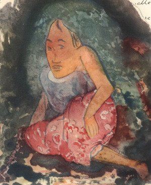 Paul Gauguin - Watercolor 28