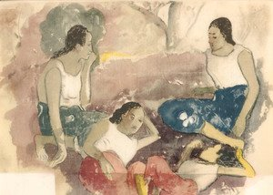 Paul Gauguin - Watercolor 34