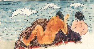 Paul Gauguin - Watercolor 36