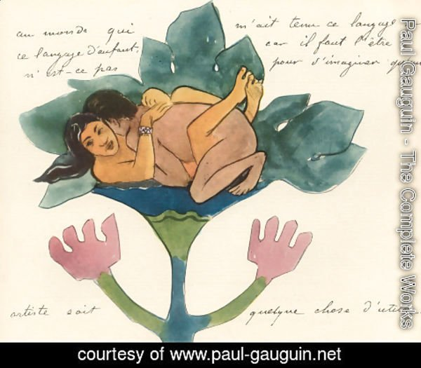 Paul Gauguin - Watercolor 39