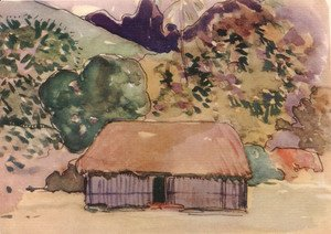 Paul Gauguin - Watercolor 42