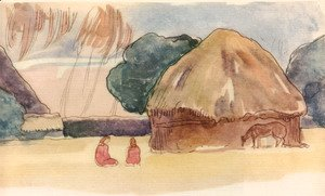 Paul Gauguin - Watercolor 43