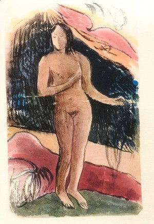 Paul Gauguin - Watercolor 01