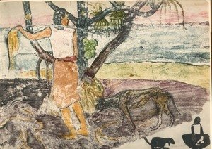Paul Gauguin - Watercolor 02