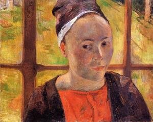 Paul Gauguin - Portrait of a Woman (Marie Lagadu) 1888