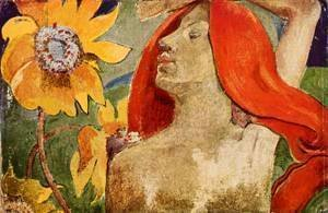 Paul Gauguin - Red Hat 1886