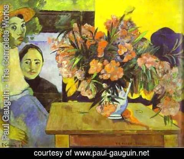 Paul Gauguin - Te Tiare Arani (aka Flowers of France) 1891
