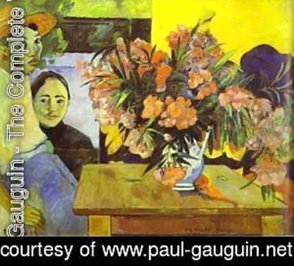 Paul Gauguin - Te tiare farani (aka Bouquet of Flowers) 1893