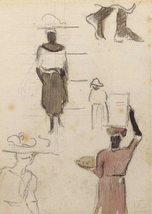 Paul Gauguin - Croquis martiniquais