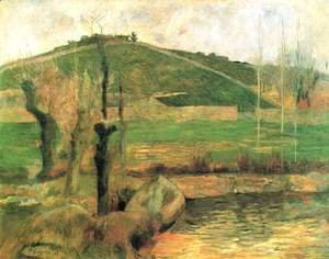 Paul Gauguin - View of the Sainte-Marguerite near Pont-Aven