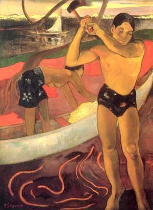 Paul Gauguin - Man with the axe