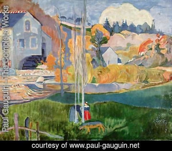 Paul Gauguin - The David-mill in Pont-Aven